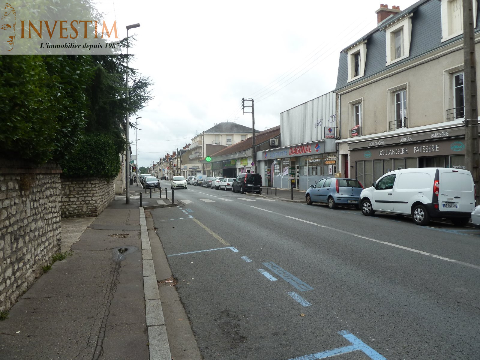 Location Immobilier Professionnel Local commercial Blois 41000